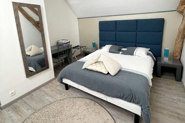 Chambre Bleue Annexe Gite Clos de la Beauce